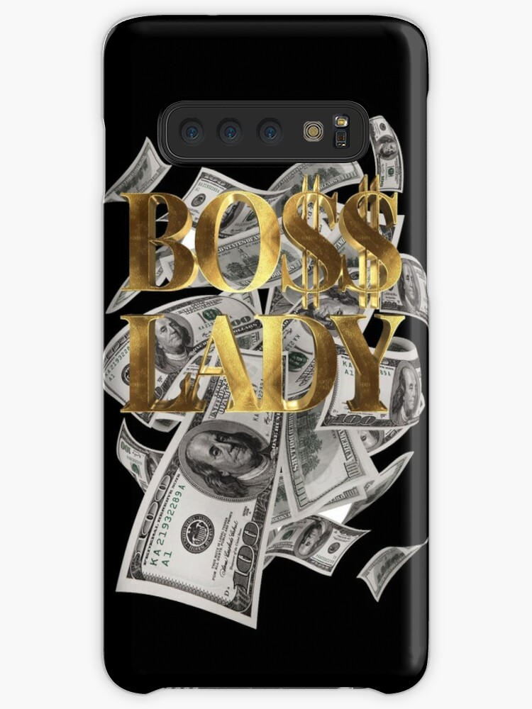 Boss Lady Girl Gold Bargeld von Under-TheTable