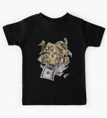 Boss Lady Girl Gold Bargeld Kinder T-Shirt