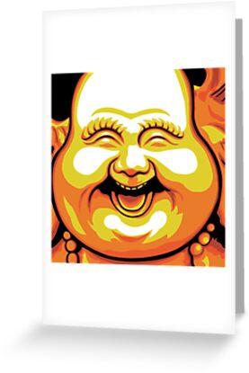 Laughing Buddha by Jacqueline Gwynne
