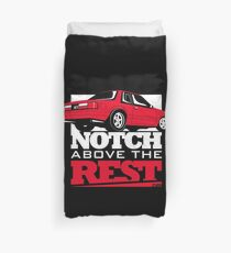 Notch Above the Rest Fox Ford Mustang Duvet Cover