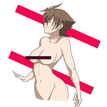 Issei Hyoudou with female body  by PixelAsh