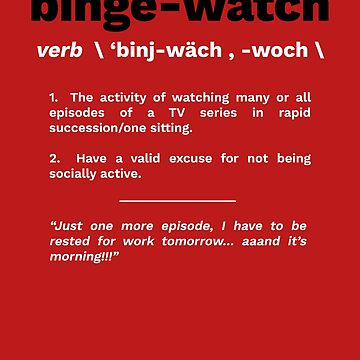 Binge Watch by Lanfa