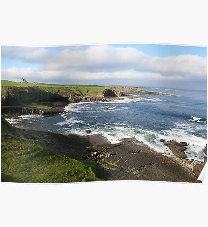 Mullaghmore coastline Poster