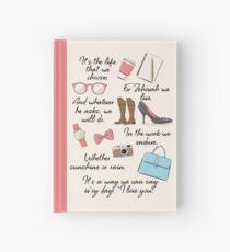 Cuaderno de tapa dura La vida de un pionero (para ella)