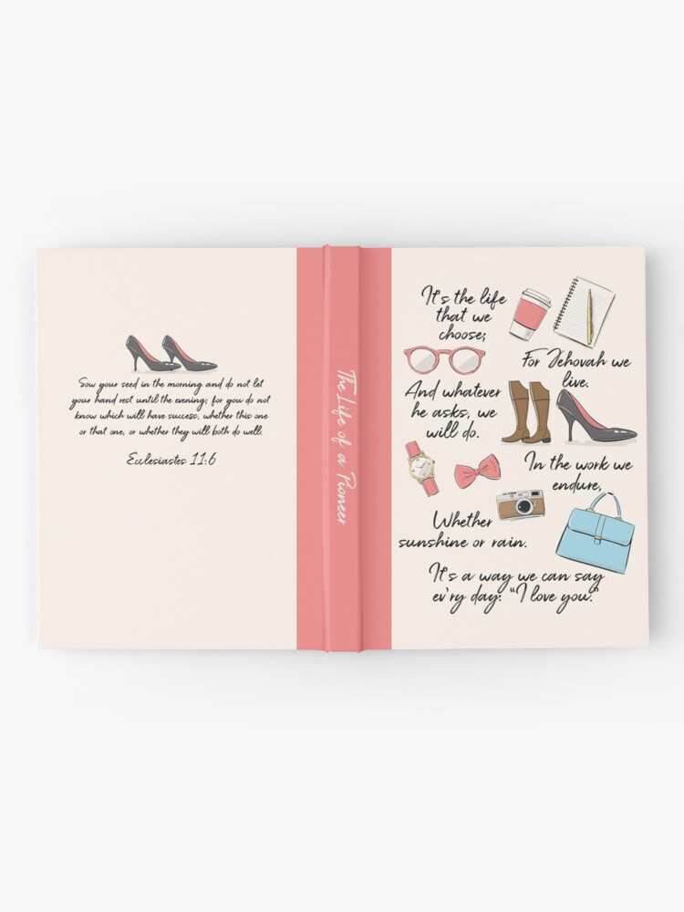 Alternate view of The Life of a Pioneer (For Her) Hardcover Journal