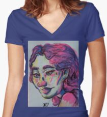 The Beauty of Colors Fitted V-Neck T-Shirt