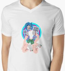 2D Men's V-Neck T-Shirt