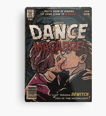 Dance Macabre - Ghost Comic Series Metal Print