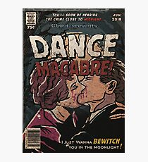Dance Macabre - Ghost Comic Series Photographic Print