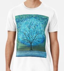 Blue Magic Tree By Rafi Perez Premium T-Shirt
