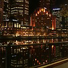 Southbank Lights by Simmone