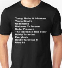 Logic Rapper List of Albums Discography Unisex T-Shirt