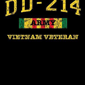 Vietnam Veteran Shirt dd214 War TShirt by thehadgaddad