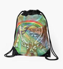 The Rainbow Cocoon Drawstring Bag