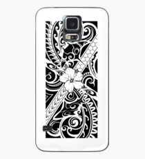 Hawaiian style tribal 2 Case/Skin for Samsung Galaxy
