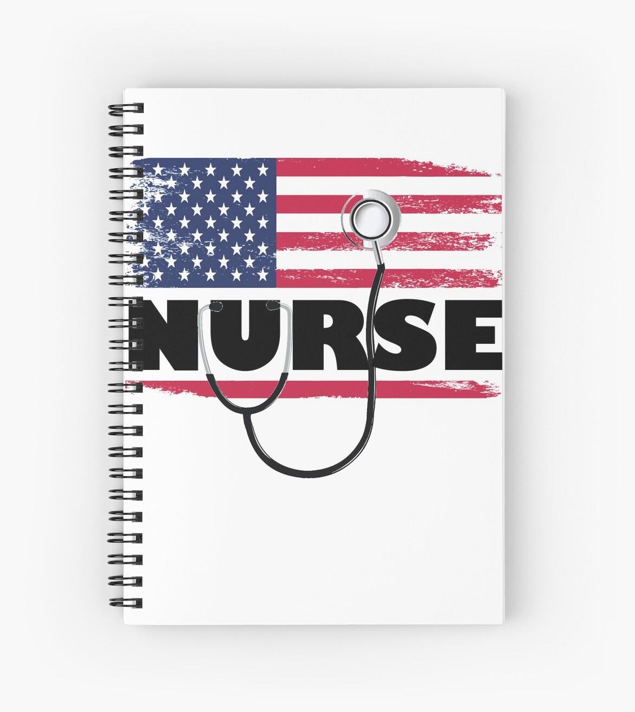 Amerikanische Flagge Krankenschwester 2018 von Lisimori