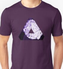 Abstract Geometry: Poison Violet (Dark Purple/Violet) T-Shirt