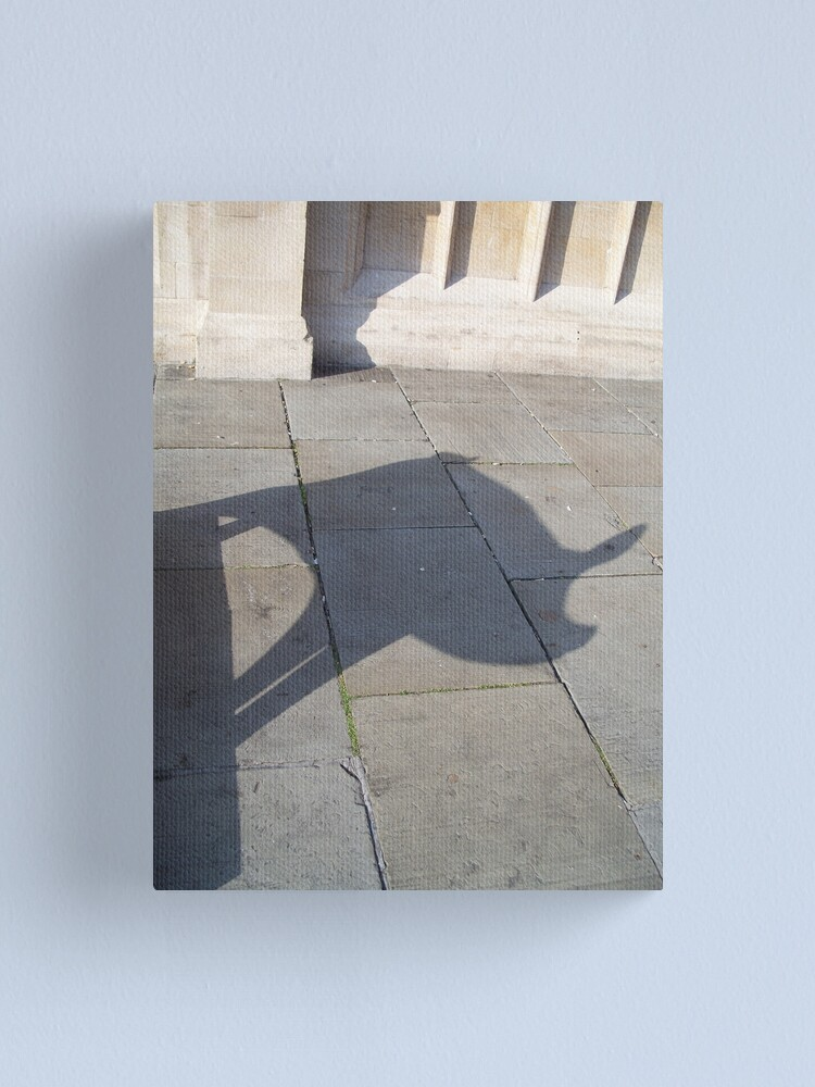 Alternate view of Pig Shadow Canvas Print