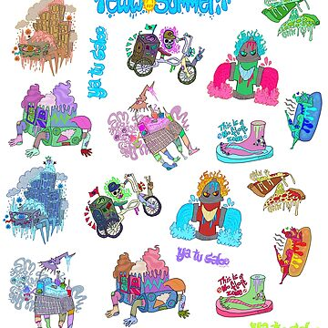 Summetime Splash - Monsters only by EwwGerms
