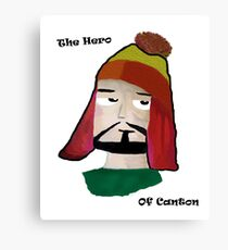 The Hero of Canton Canvas Print
