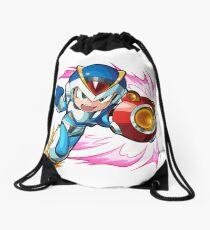 Chibi Megaman X / Rockman X w/ Light Armor Drawstring Bag