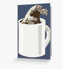 Cup O' Hokusai Greeting Card