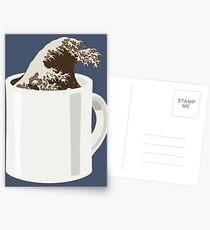 Cup O' Hokusai Postcards