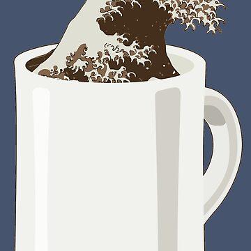Cup O' Hokusai by pdonz