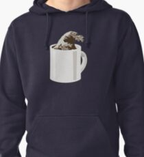 Cup O' Hokusai Pullover Hoodie