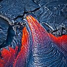 Kilauea Volcano Lava Flow. 3 by Alex Preiss