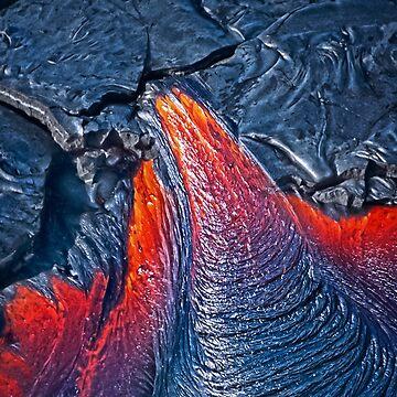 Kilauea Volcano Lava Flow. 3 by alex4444