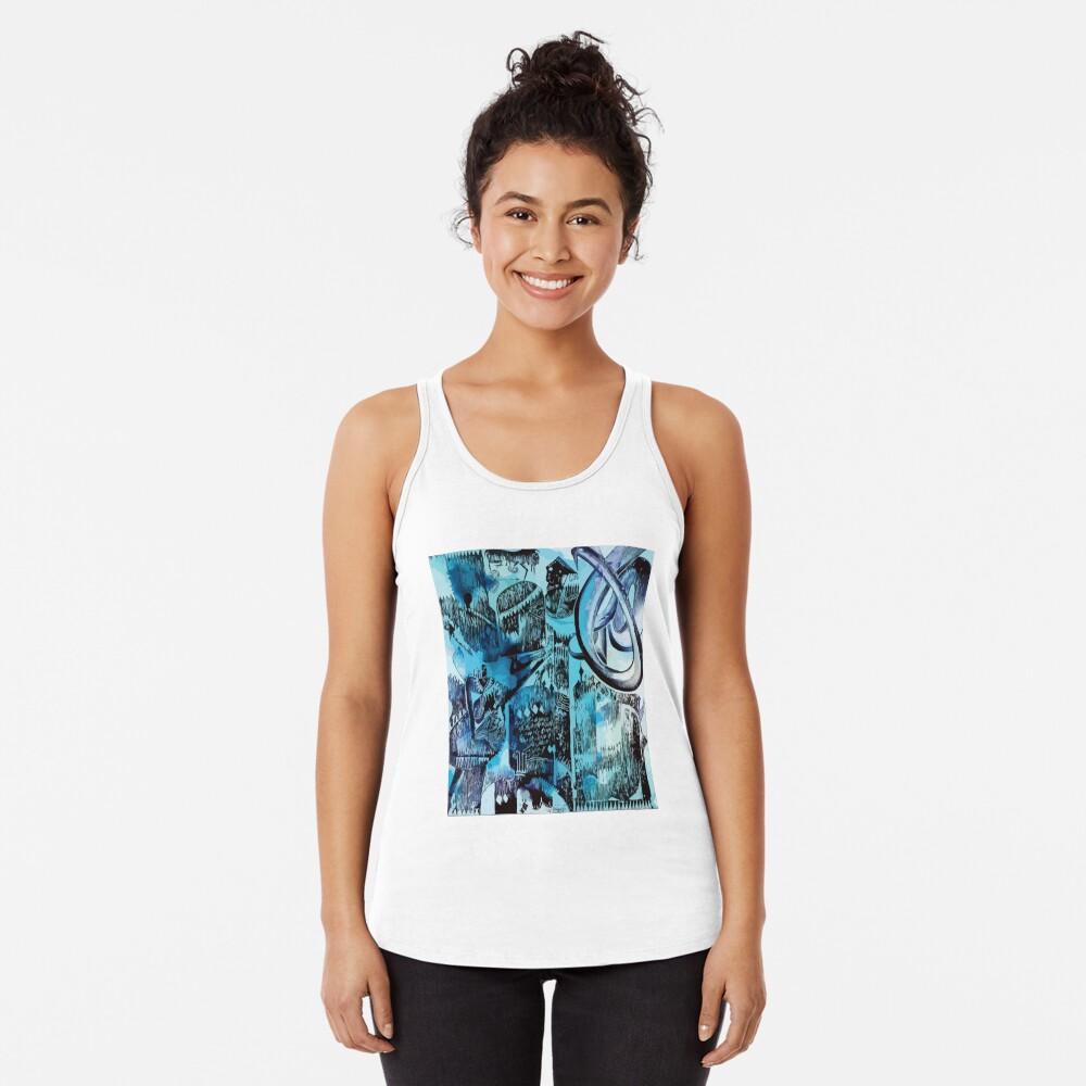 Camiseta Fine Art Camiseta con espalda nadadora
