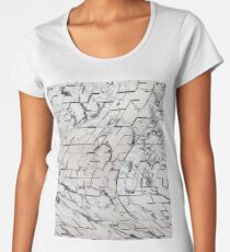 Abstract expressionism  Women's Premium T-Shirt