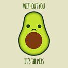 Avocado Pits by whatsandramakes
