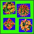 Just for Fun - Another Crazy Tulips Collage von BlueMoonRose