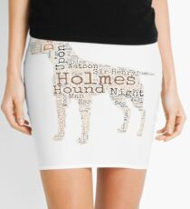 Sherlock Holmes Hound of the Baskervilles Mini Skirt