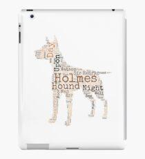 Sherlock Holmes Hound of the Baskervilles iPad Case/Skin