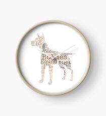 Sherlock Holmes Hound of the Baskervilles Clock