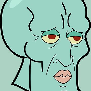 Handsome Squidward by TroyBolton17