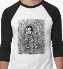 Mad Sketchy Men's Baseball ¾ T-Shirt