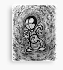 Mad Sketchy Canvas Print