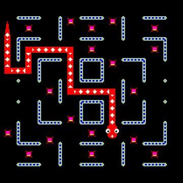 Nibbler Maze by 8BitClassics