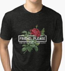 Twenty One Pilots Friend Please 3 Tri-blend T-Shirt