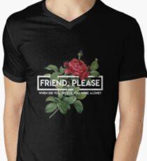 Einundzwanzig Piloten Freund Bitte 3 T-Shirt mit V-Ausschnitt