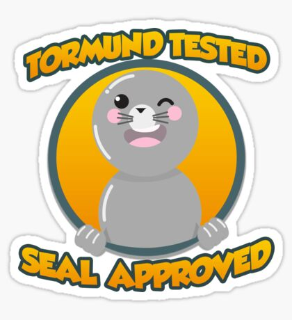 Seal of Approval Glossy Sticker