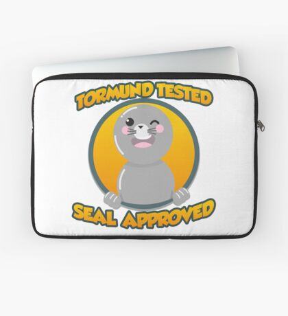 Seal of Approval Laptop Sleeve