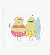Summer pears Wall Tapestry