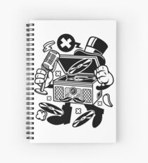 Turntable Cartoon Character Spiral Notebook