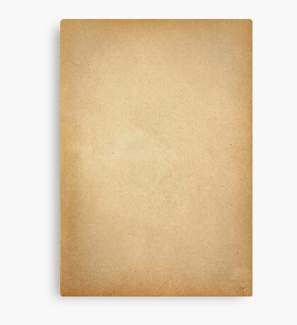 old grunge paper Canvas Print