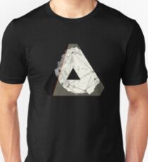 Abstract Geometry: Embers (Brown/Gold) T-Shirt